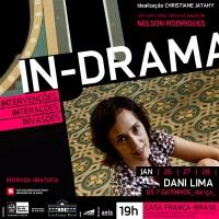 Dani Lima apresenta performance na Casa França-Brasil (RJ)