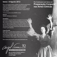 Preparação Corporal nas Artes Cênicas: Faculdade Angel Vianna (RJ) oferece curso de especialização na área