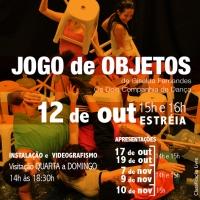 """""""Jogo de Objetos"""": Os Dois Companhia de Dança (RJ) estreia experimento em dança com enfoque no público infanto-juvenil"""
