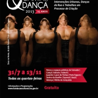 Bahia em dois atos: 15 anos do projeto Quarta que Dança + Diálogos Cruzados na UFBA