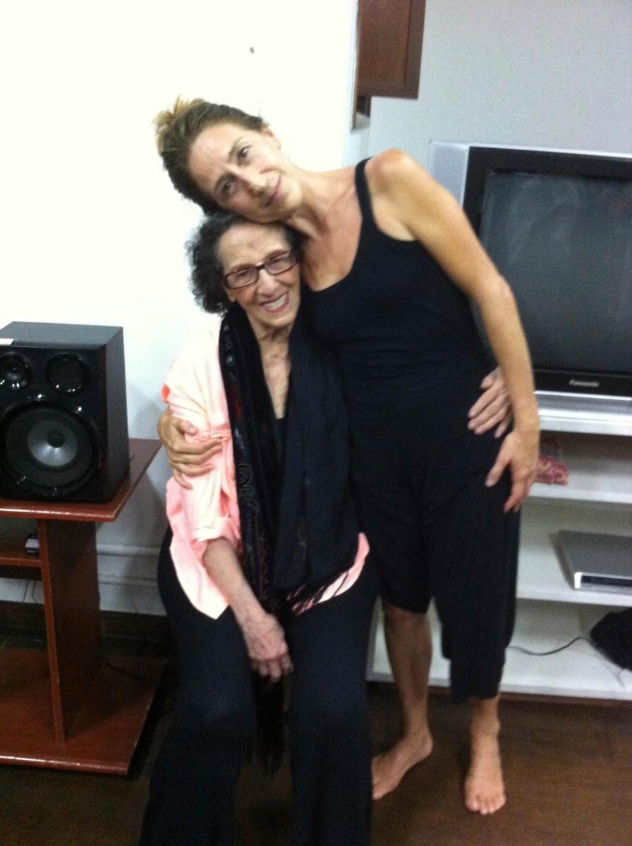 Escola e Faculdade Angel Vianna recebe aula de Beth Bastos no Rio de Janeiro
