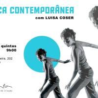 Na ponte RJ-SP: curso de dança contemporânea e respiração + palestra com María Adela Palcos + Mostra Exercícios Compartilhados
