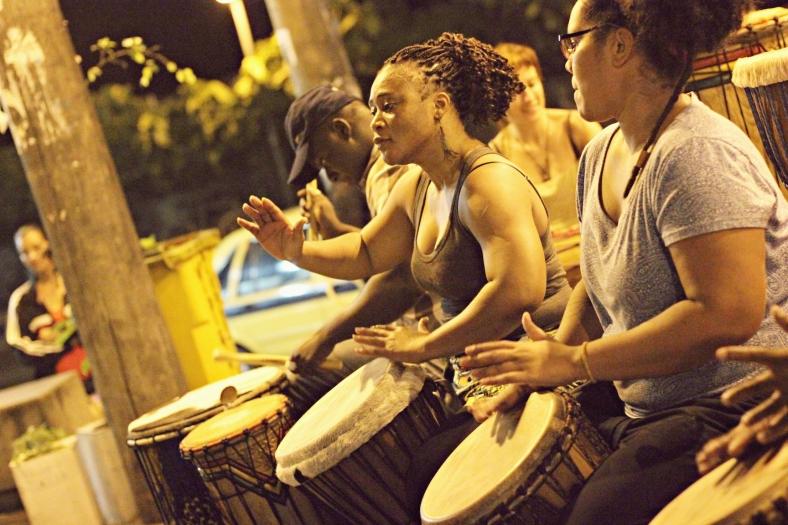 Mariama Camara (centro) / foto: Julius Mack